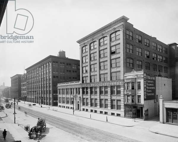 Eastman Kodak Company, Factory and Main Office, State Street, Rochester, New York, USA, circa 1910