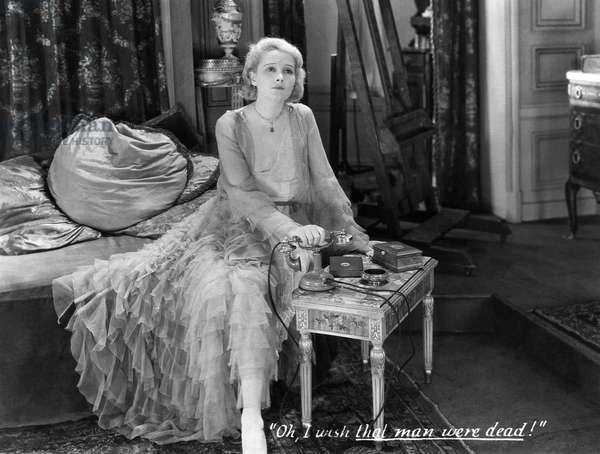 """Jeanne Eagels, on-set of the Film, """"Jealousy"""", 1929"""