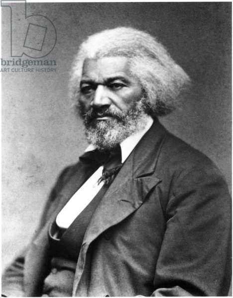 Frederick Douglass (1817-1895), African-American Abolitionist, Portrait, c.1874