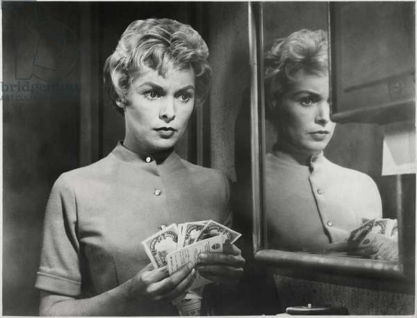 Janet Leigh, on-set of the Film,