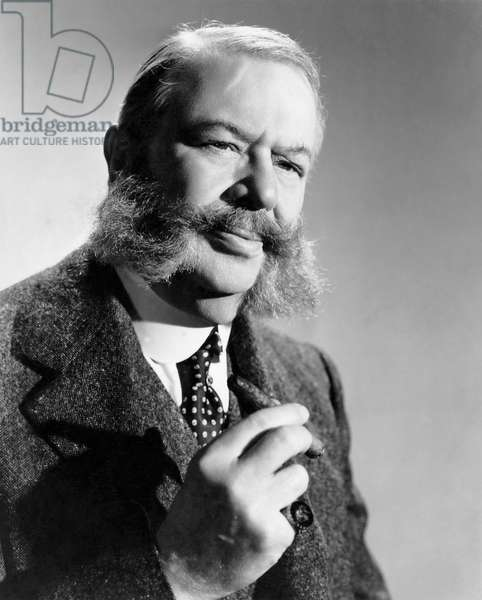 """Charles Coburn, Publicity Portrait for the Film, """"Heaven Can Wait"""", 20th Century Fox Film Corp., 1943"""