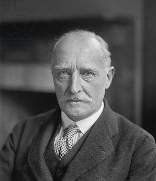 Esme Howard, 1st Baron Howard of Penrith, British Ambassador to the U.S., Portrait, 1924 (b/w photo)