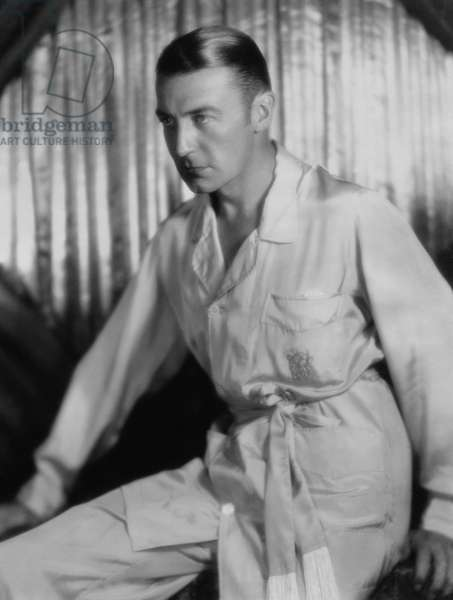 "Clive Brook, Publicity Portrait for the Film, ""The Lawyer's Secret"", Paramount Pictures, 1931 (b/w photo)"