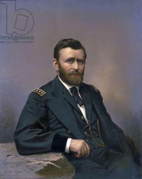 Ulysses S. Grant, published by Fabronius, Gurney & Son, 1867 (litho)
