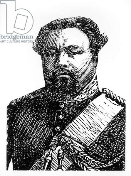 Kamehameha V (1830-1872), King of the Kingdom of Hawaii 1863-1872, Portrait