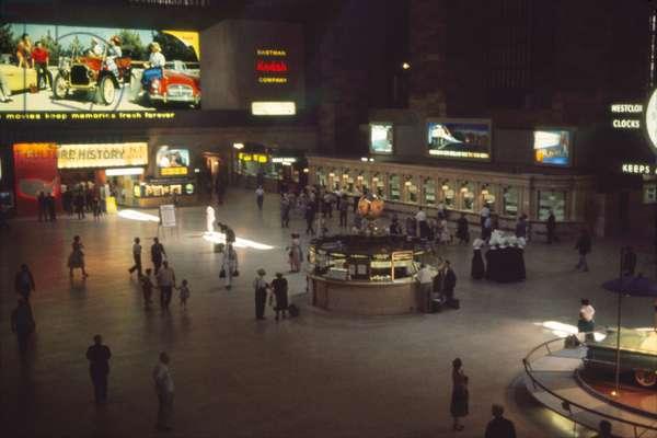 Grand Central Terminal, Main Concourse, New York City, New York, USA, July 1961