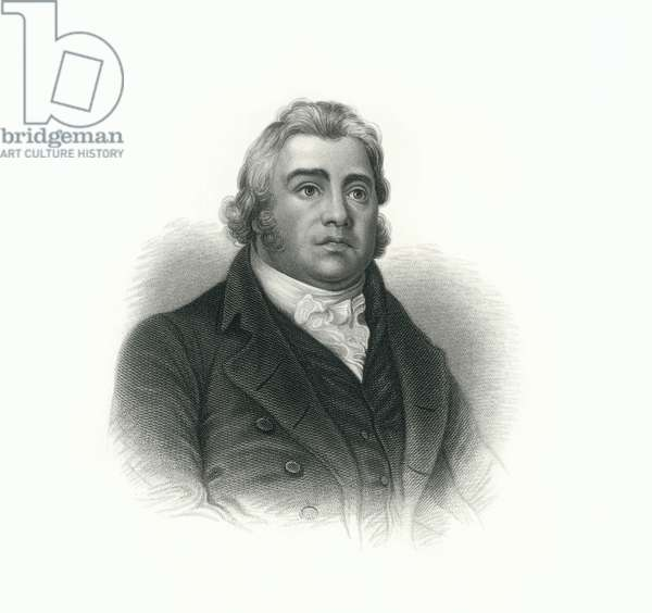 Samuel Taylor Coleridge (1772-1834), English Poet, Philosopher and Founder of Romantic Movement, Engraving, 1876