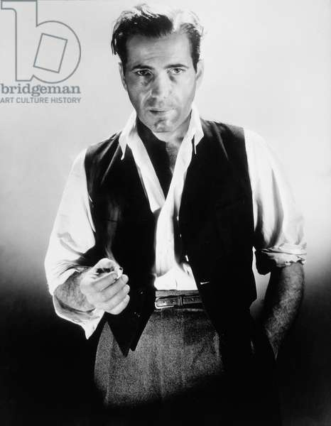 Humphrey Bogart, Publicity Portrait for the Film 'Black Legion', 1936 (b/w photo)