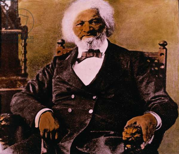 Frederick Douglass (1817-1895), American Abolitionist, Portrait