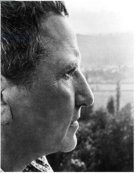Gertrude Stein (1874-1946), American Novelist and Poet, Close-Up Profile, c.early 1930's