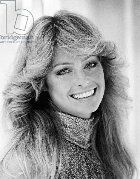Farrah Fawcett, Smiling Portrait, 1976