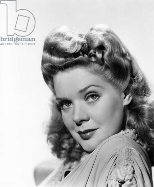 """Alice Faye, Publicity Portrait for the Film, """"The Gang's All Here"""", 20th Century Fox Film Corp., 1943"""