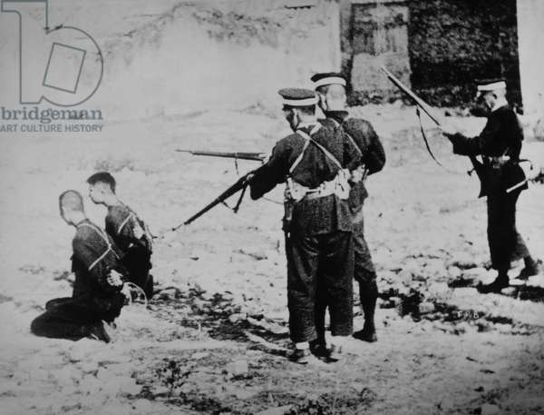 Execution of Two Chinese Men by Japanese Soldiers during Second Sino-Japanese War, circa 1937