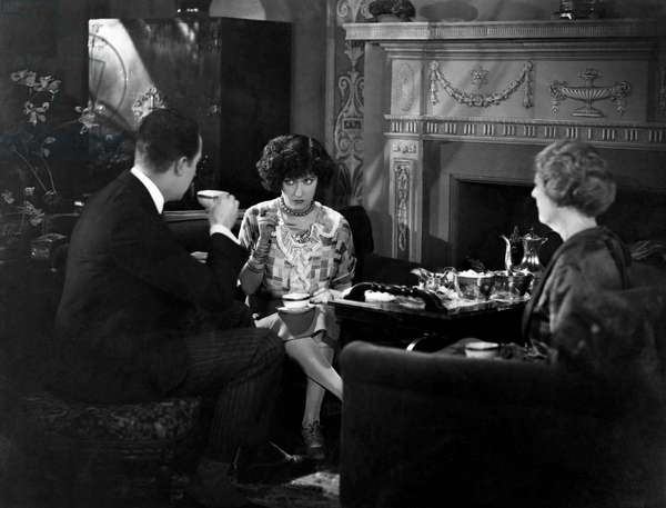 Eugene O'Brien, Gloria Swanson, Helen Dunbar, on-set of the Silent Film,
