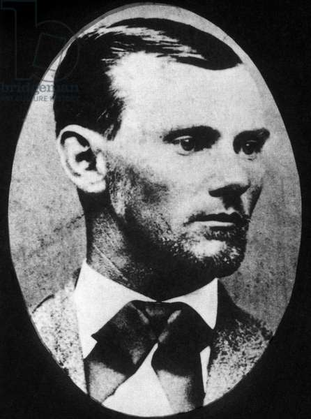 Jesse James (1847-1882), Outlaw, Bank and Train Robber