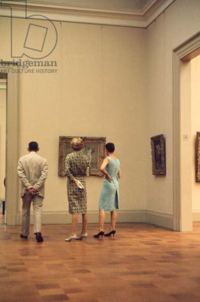 Metropolitan Museum of Art, Interior View, New York City, New York, USA, July 1961