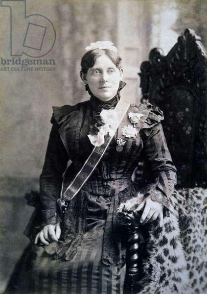 Florence Nightingale (1820-1910), English Nurse, Founder of Modern Nursing, Albumen Photograph, Circa 1880
