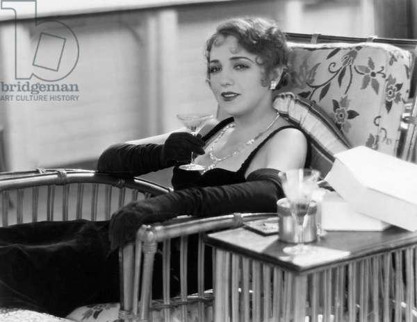 "Bebe Daniels, on-set of the Film, ""My Past"", 1931"