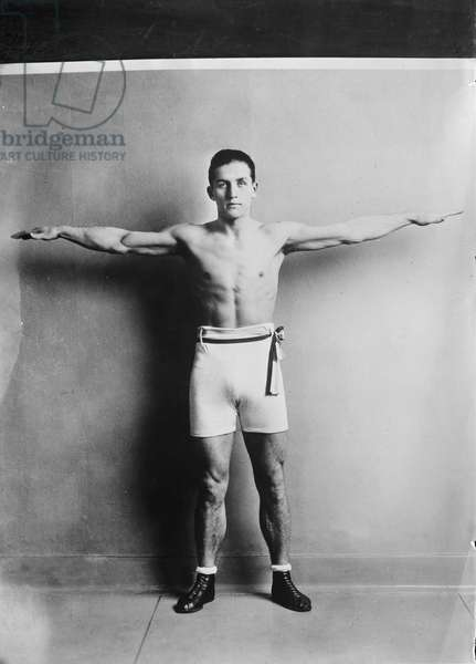 Georges Carpentier (1894-1975), French Boxer, Portrait, circa 1920
