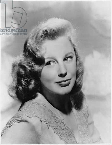 Actress June Allyson, Publicity Portrait, 1940's
