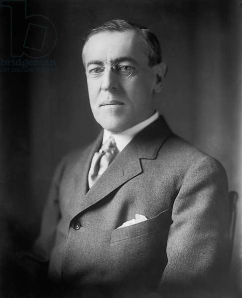 U.S. President Woodrow Wilson, Portrait, circa 1910's