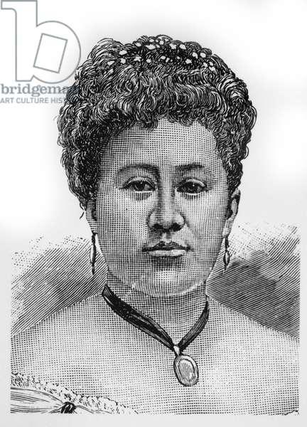Kapiolani (1834-1899), Queen of the Kingdom of Hawaii, 1874-1891, Portrait