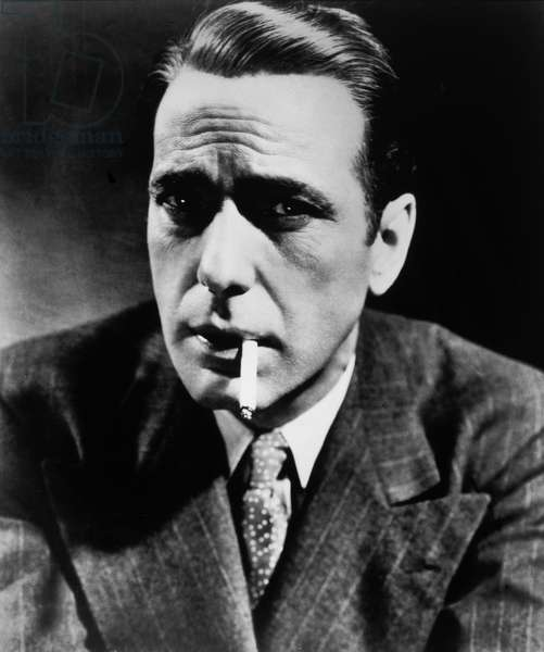 Humphrey Bogart, Publicity Portrait for the Film 'The Maltese Falcon', 1941 (b/w photo)