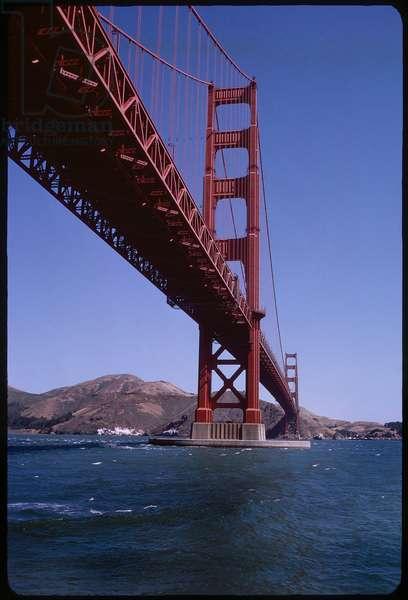 Golden Gate Bridge, San Francisco, California, USA, 1963