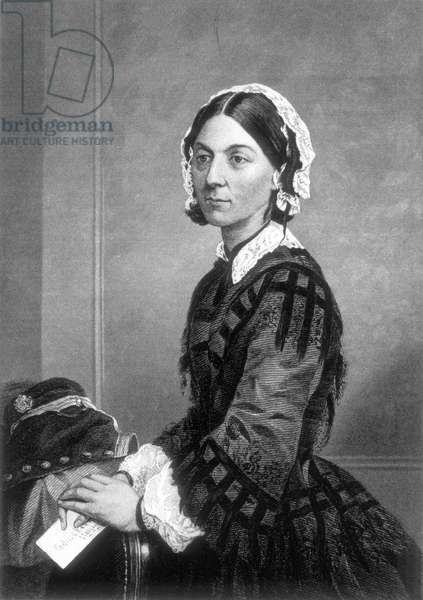 Florence Nightingale (1820-1910), English Nurse, Founder of Modern Nursing
