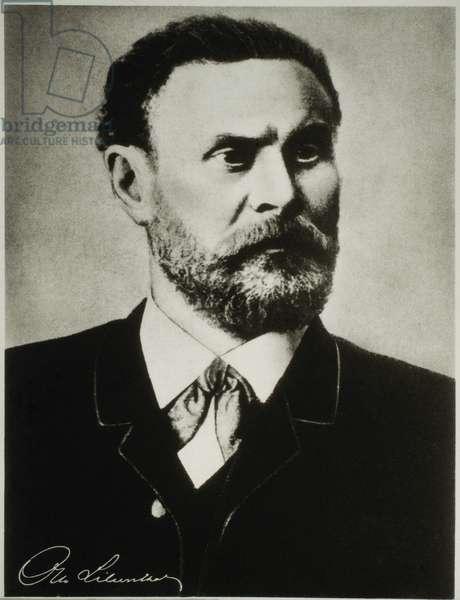 Otto Lilienthal (1848-1896), Engineer, Scientist, Pioneer of Glider Flight in Germany