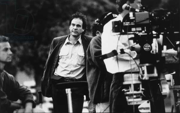 Oliver Stone, Director, on-set of the Film,