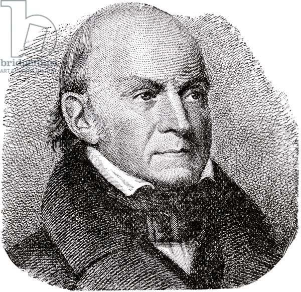 John Quincy Adams, 1889 (engraving)