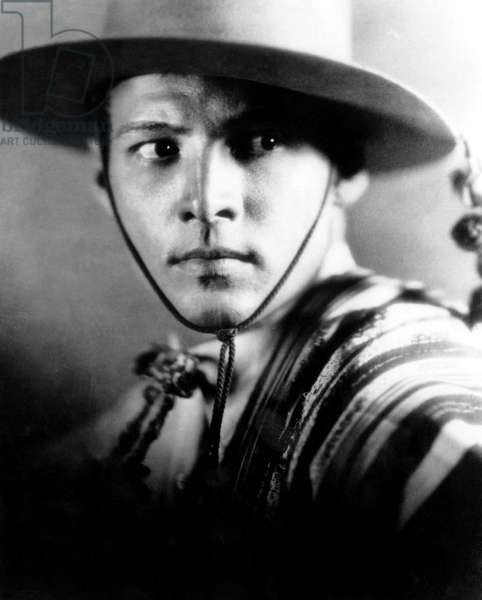 """Rudolph Valentino, Publicity Portrait for the Silent Film """"The Four Horsemen of the Apocalypse"""", 1921"""