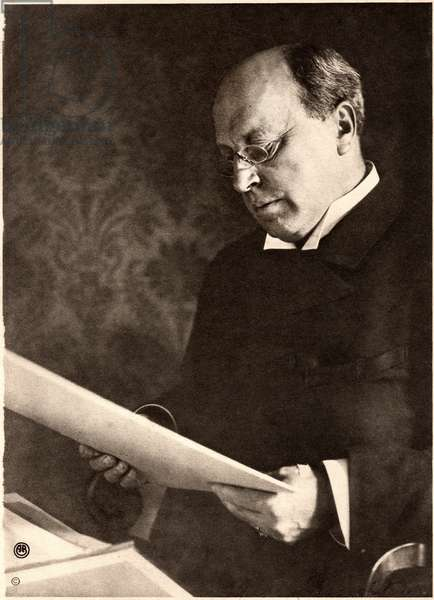 Henry James (1843-1916), American Writer, Portrait, c.1890's