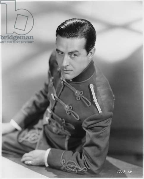 """Ray Milland, Publicity Portrait for the Film, """"Hotel Imperial"""", Paramount Pictures, 1939 (b/w photo)"""