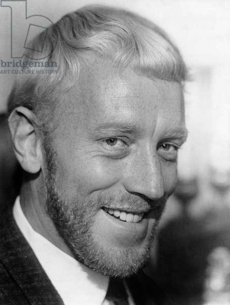Max Von Sydow, Smiling Portrait, 1967
