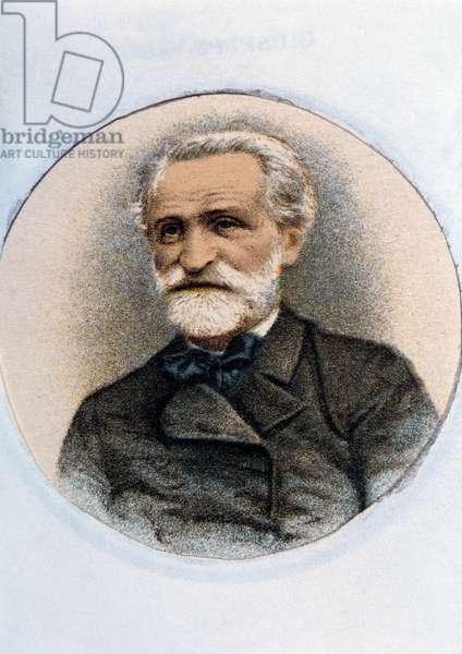 Giuseppe Verdi (colour litho)