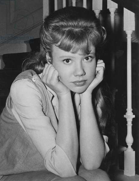 "Hayley Mills, on-set of the Film, ""The Chalk Garden"", 1964"