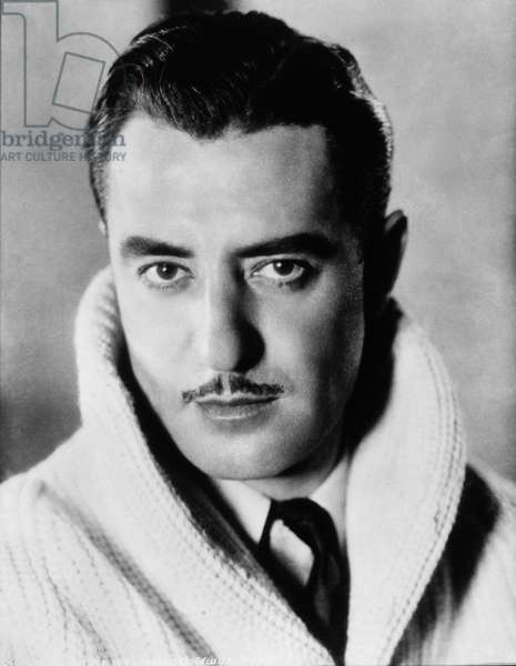 Actor John Gilbert, Portrait, circa 1920's (b/w photo)