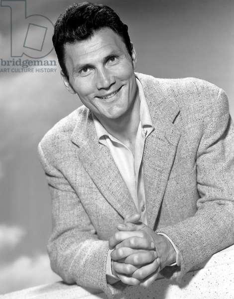 Jack Palance, Smiling Portrait, 1954