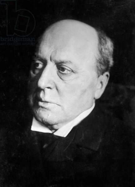 Henry James, American Novelist, Portrait, Bain News Service, 1910 (b/w photo)