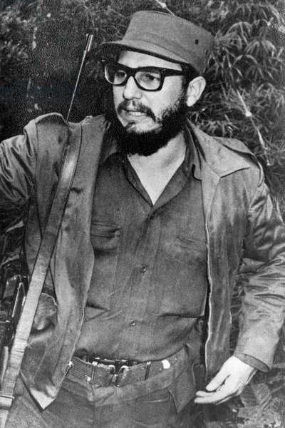 Fidel Castro, Portrait, circa mid-1950's