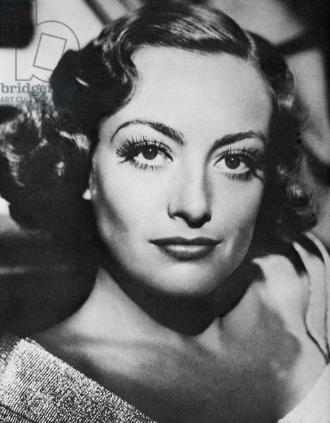 Actress Joan Crawford, Portrait, circa 1930's (b/w photo)