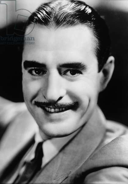 Actor John Gilbert, Portrait, circa 1930 (b/w photo)