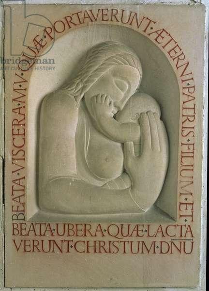 Madonna and Child (stone)