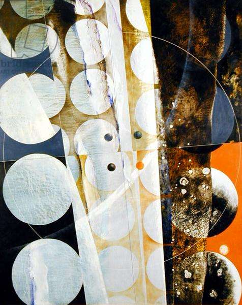 In Many Moons, 1966 (oil and tempera on board)