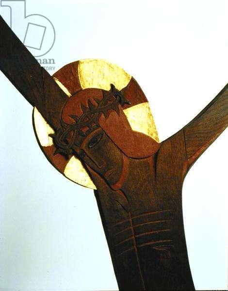 Crucifixion (wood)