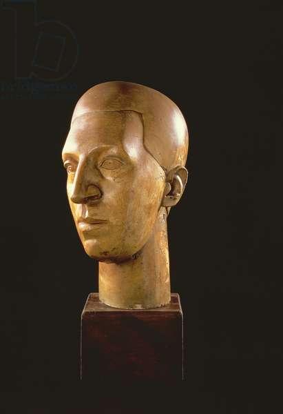 Osbert Sitwell (1892-1969) (plaster)