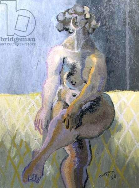 Jolly Nude, 1958 (oil on canvas)