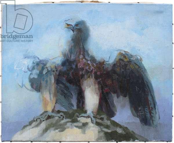 Eagle (oil on canvas)
